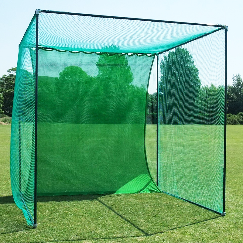 Golf Practice Cage Nets 10ft x 10ft x 10ft