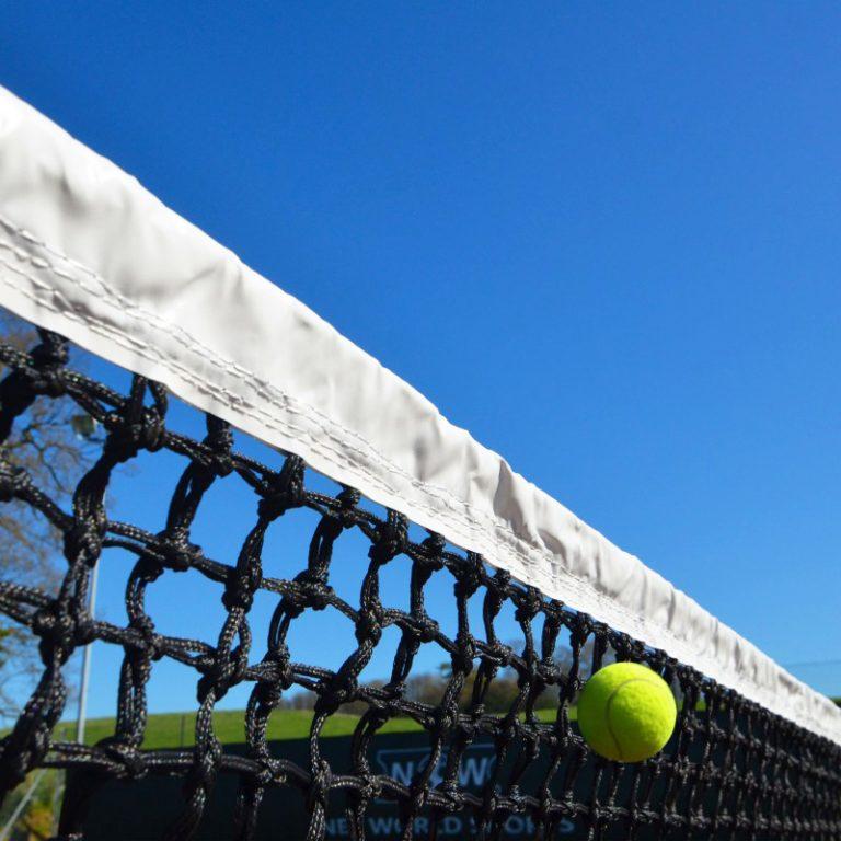 3mm Braided Tennis Nets Double Mesh